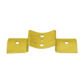 Spojka kulatých trámků (kolmý spoj) - bílý zinek - LBO 1
