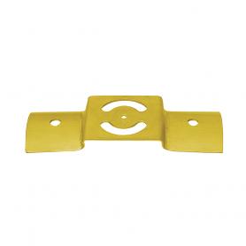 Spojka kulatých trámků (stavitelný spoj) - bílý zinek - LBO  3