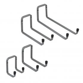 "2x Garážovy Hák dvojitý typu ""U"" H2U"