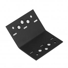 Úhelník 135° ozdobný černý - SDKLR 61x61x85x2,5