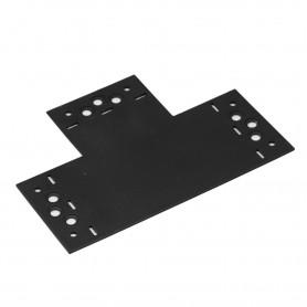 Spojka plochá tvar T ozdobná černá - SDLPB 207x146x85x2,5
