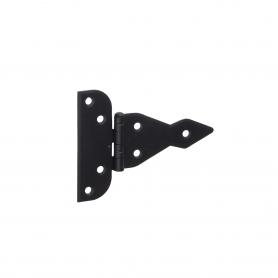 Závěs trojúhel ozdobný - černý - ZAT