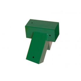 Trámová spojka, čtvercových trámů 100° zelená - GHL 1