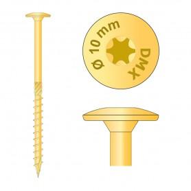 Tesařské vruty s talířovou hlavou 10mm TORX - CT