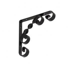 Dekorativní držák na police - ocel - WO