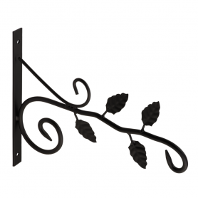 UK 5 držák závěsného květináče - větvička černý 230x320