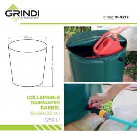 Nádrž na dešťovou vodu, okapová voda - 250L - skládací
