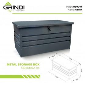 Záhradní box - ORTO 400 litrů, kovový