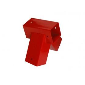 Trámová spojka čtvercových trámu - červená - 100 ° - GHVK