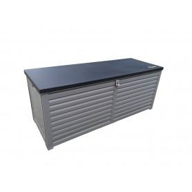 Záhradní box - LARUS 390 litrů, šedá